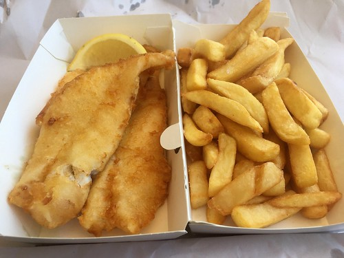 We Like Both Kinds of Food, Fish and Chips | by cogdogblog