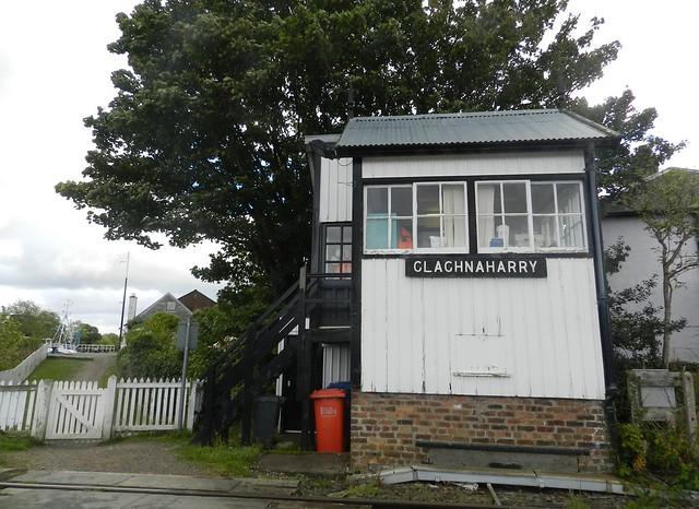 Clachnaharry Railway Signal Box, Clachnaharry, Inverness, Oct 2017