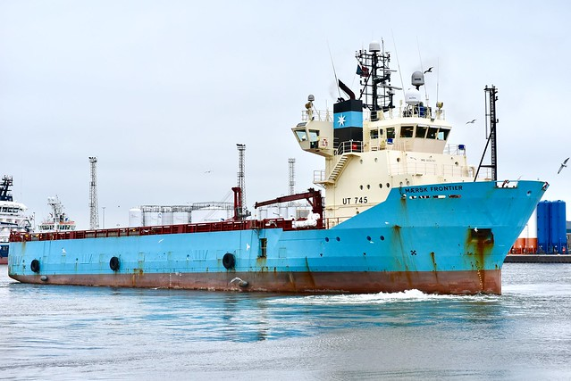 Maersk Frontier - Aberdeen Harbour Scotland 8/11/17