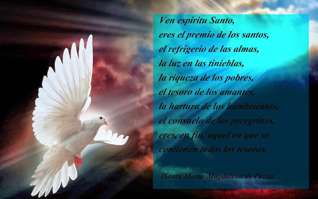 Frase Espiritu Santo Santa Magdalena Pazzi Verónica Cruz