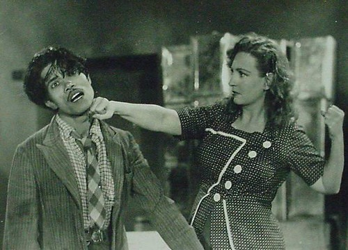 Azeem (Actor of 40s) & Fearless Nadia in Dhoomketu (Comet)-1949