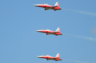 DSC_1051 - Northrop F-5E Tiger II, Patrouille Suisse, Swiss Air Force, RAF Fairford, 10th July 2014.