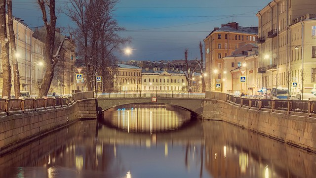 Griboyedov Canal, St. Petersburg