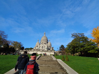 up the stairs to sacre coeur | by mary.cecelia