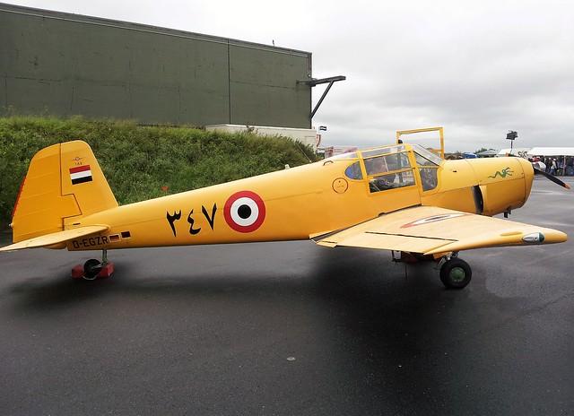 Gomhouria-181 Mk.6 347/D-EGZR c/n 185 ex Egypt-AF/ EAF. Wittmund Open-House, Germany. 29 June 2013.