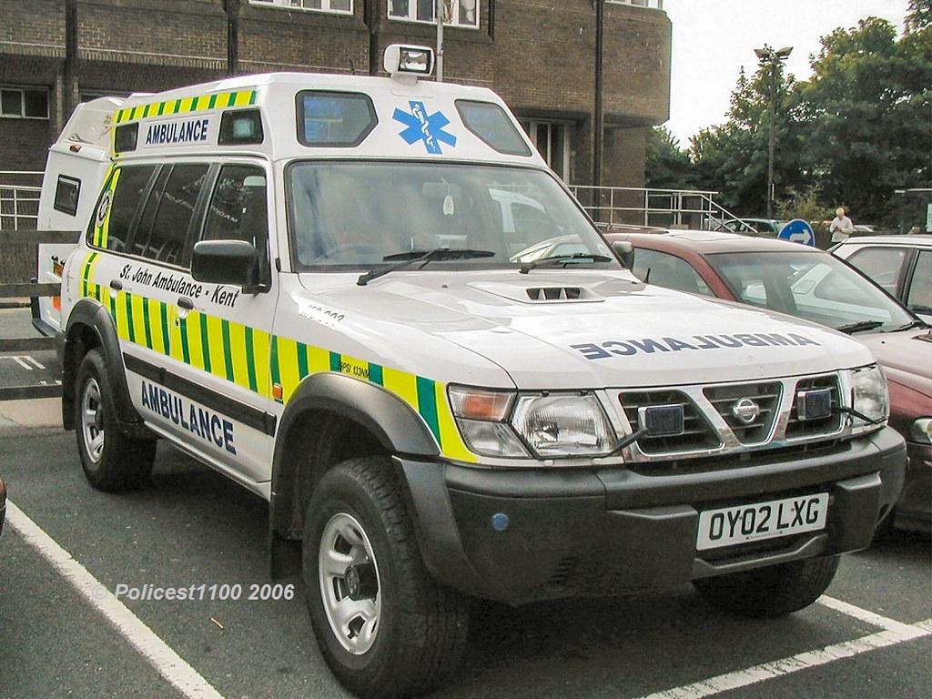Saint John Nissan >> St John Ambulance Nissan Patrol Oy02 Lxg Policest1100 Flickr