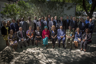 DSG Visit Group Photo | by United Nations Stabilization Mission In Haiti