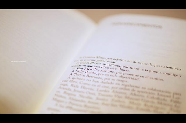 My Name in Begoña Beristain's Book