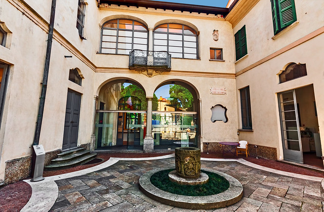 Villa Panza - Small courtyard