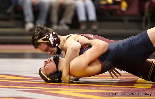 133 #8 Mitch McKee (Minnesota) fall Trevor Williams (Fresno State) 1:36 - 171210AMK0021