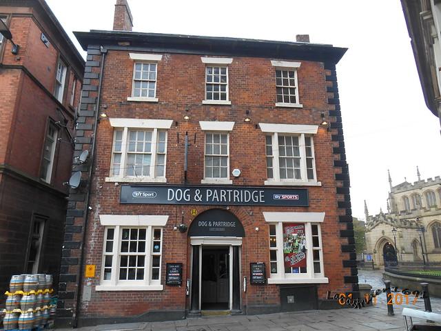 'The Dog & Patridge'  {i}