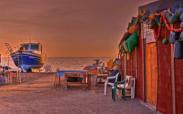 Pesca Artesanal.  Cabo de Gata