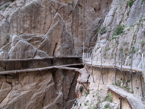 The King's Little Pathway_europanostra ward_caminito del rey_heritage_patrimonio_industrial archaeology   by Libe_reharq