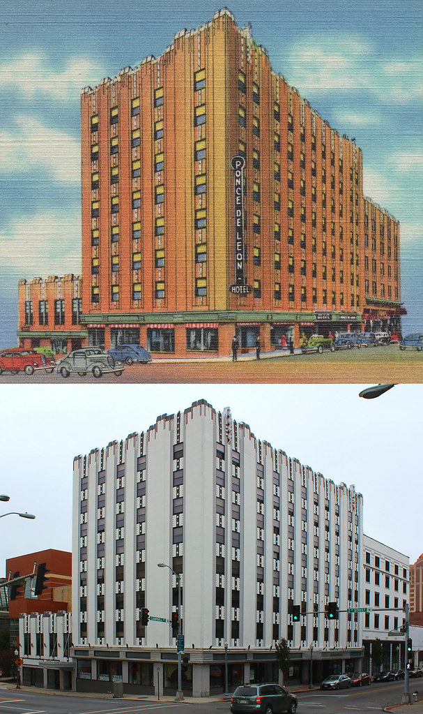 The Ponce De Leon Hotel Then And Now Roanoke Virginia I Flickr