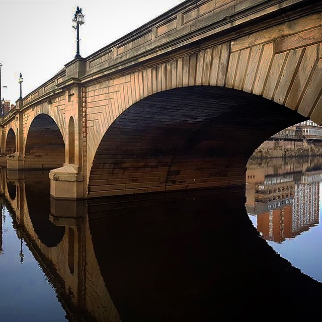 Reflections on the River Ouse, York