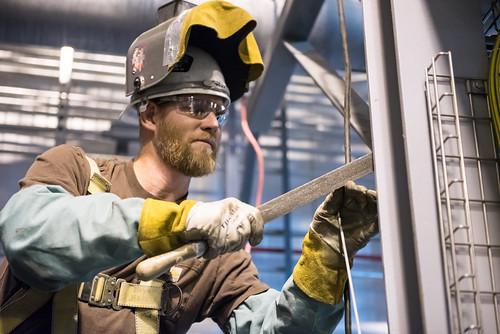 Blue Grass Chemical Agent-Destruction Pilot Plant Explosive Destruction Technology Enclosure Building | by PEO, Assembled Chemical Weapons Alternatives