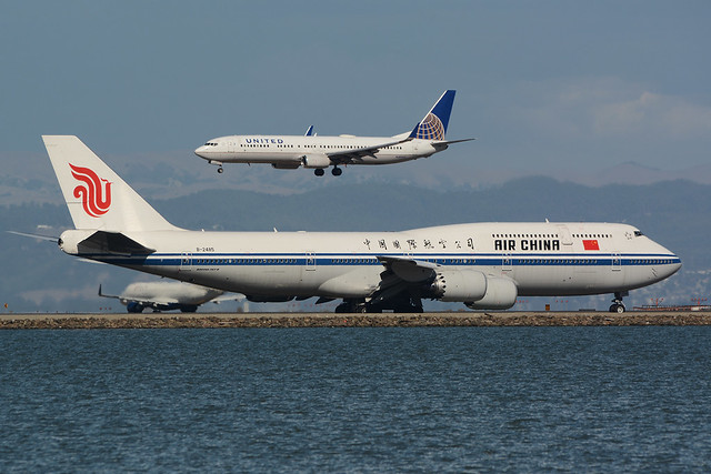 B-2485 Boeing B747-8ZV KSFO 01-10-15