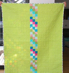 Scrappy quilt completed - 2