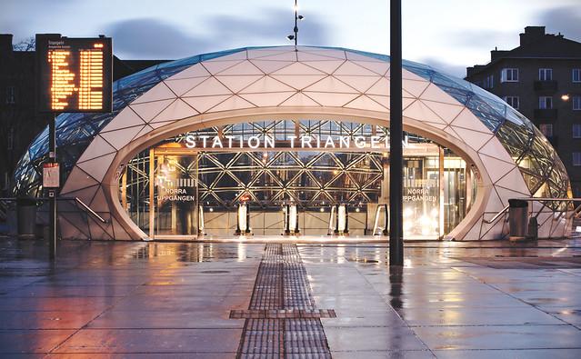 H: Station Trianglen