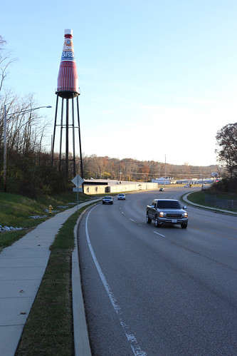 World's Largest Catsup Bottle - Collinsville, Illinois