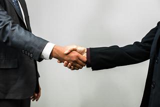 Handshake - Man and Woman | by amtec_photos