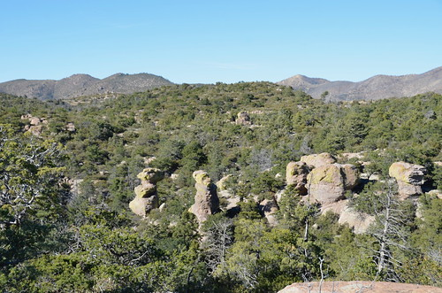Chiricahua National Monument view starting out on the trail | by Pierre Yeremian