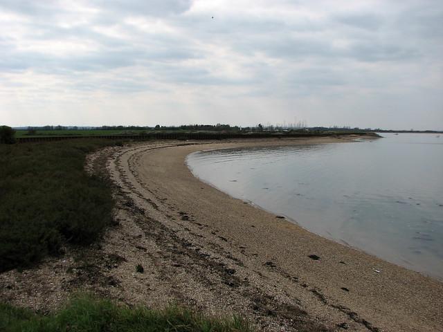 The beach at Ramsey Island