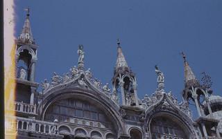 Venice St Mark's facade
