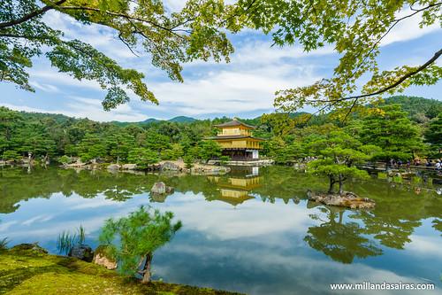 Kinkaku-ji o templo del pabellón dorado, en Kyoto | by Millán