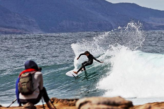 Sandon Point Surfer
