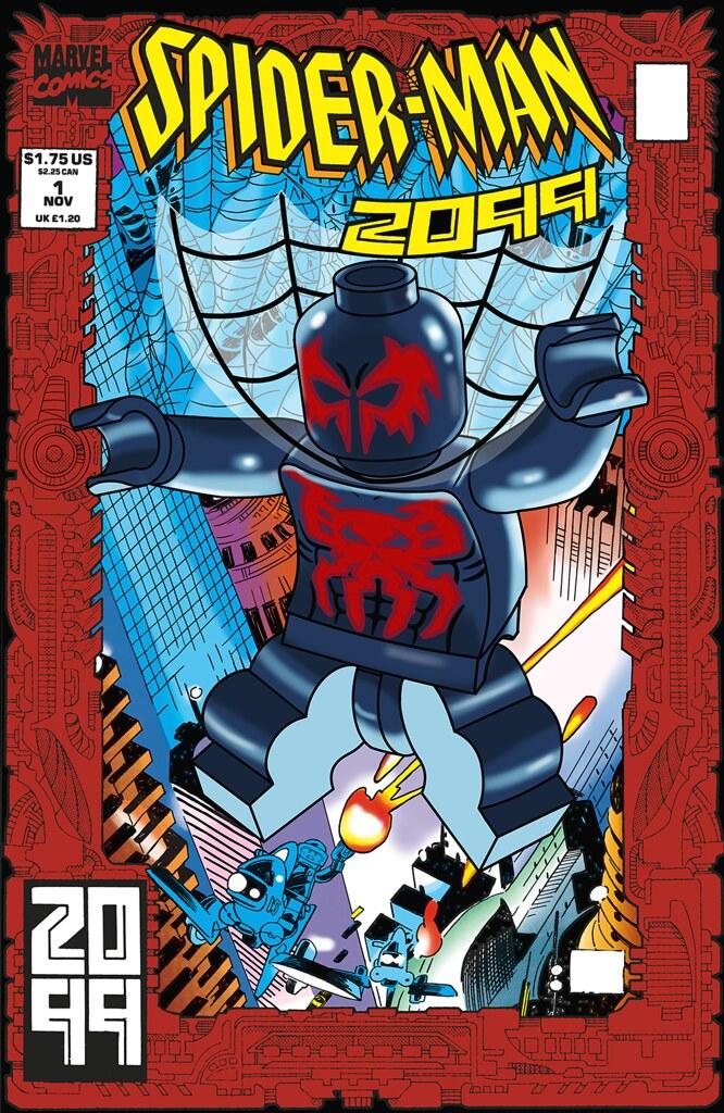 Spider-Man 2099 #1 | LEGO Marvel Super Heroes video game ...