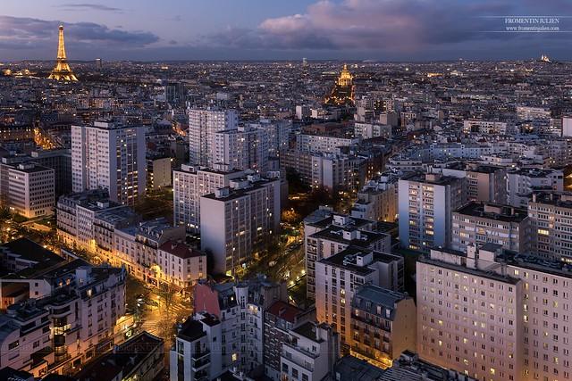 Tour Eiffel, Hôtel des Invalides & Sacré-Coeur, Paris