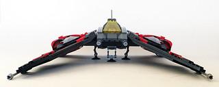 Aurek-Wing Fighter front | by Oky - Space Ranger