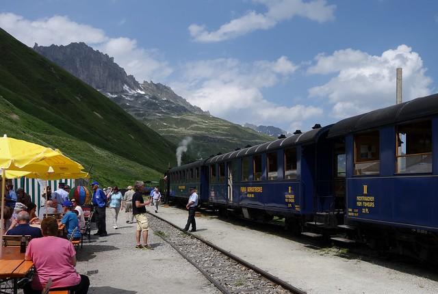 Dampfbahn Furka Bergstrecke - DFB