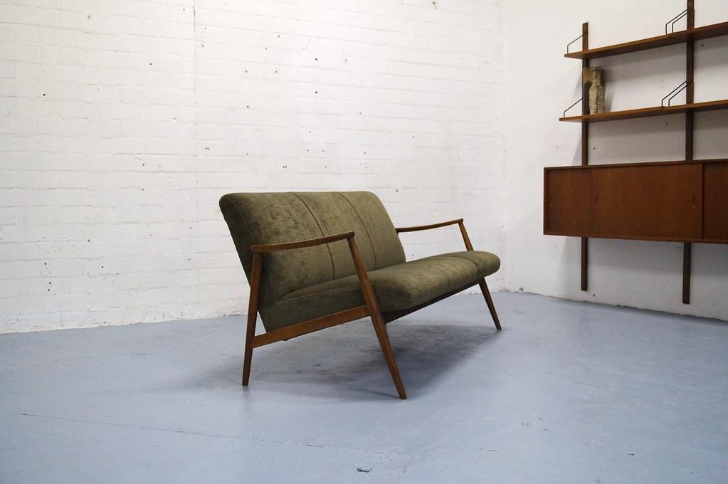 Deens Design Vintage Bank.Vintage Teak Bank Jaren 50 60 Retro Deens Design Pastoe Vo Flickr