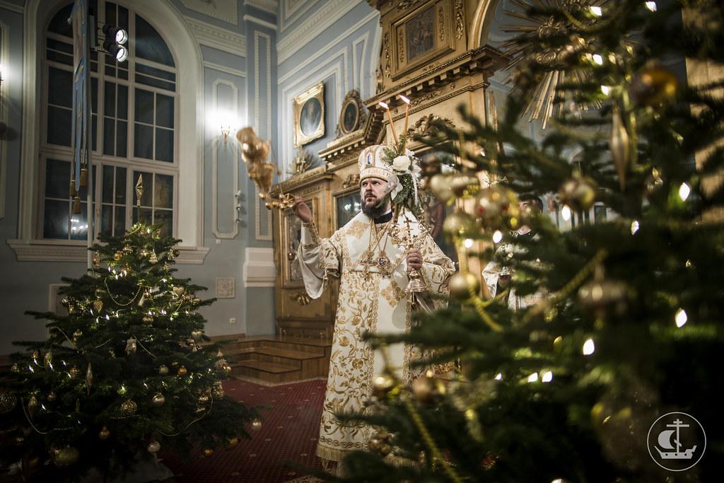 7 января 2017, Рождество Господа Бога и Спаса нашего Иисуса Христа / 7 January 2017, The Nativity of Our Lord, God, and Savior Jesus Christ
