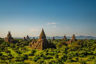 Sunset in Bagan   by tehhanlin