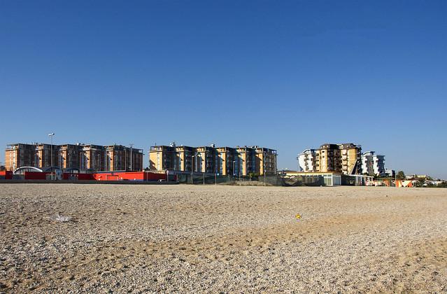 spiaggia sud d'inverno