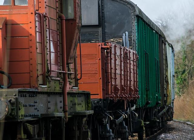 Swanage Railway - Winter Warmup 2016