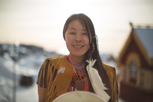sunset 3900 nuuk colourful inuit games awg digital lumenzia lightroom photoshop wacom