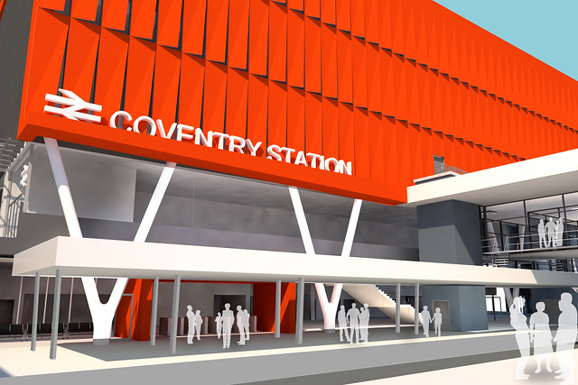 Coventry Rail Station Masterplan