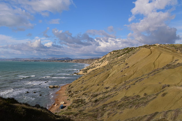 Landscape from Punta Bianca, Palma di Montechiaro, Sicily 092