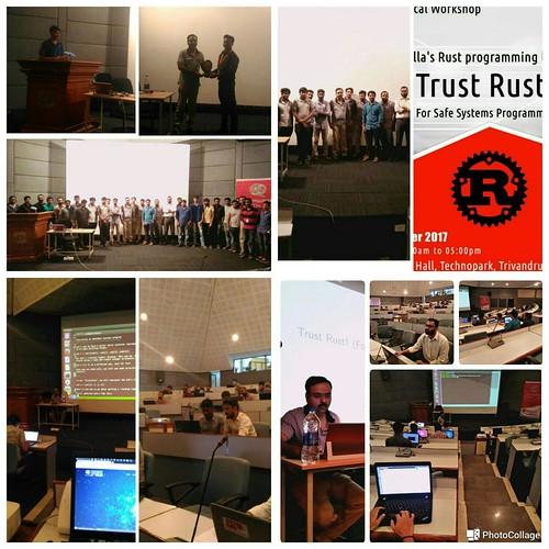 Rust workshop at Technopark Trivandrum