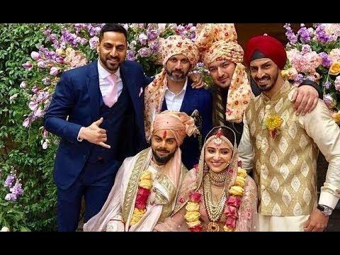 Virat Kohli And Anushka Sharma Marriage Video A Photo On