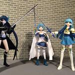 Sisterhood of Magical Blue-haired Swords-women
