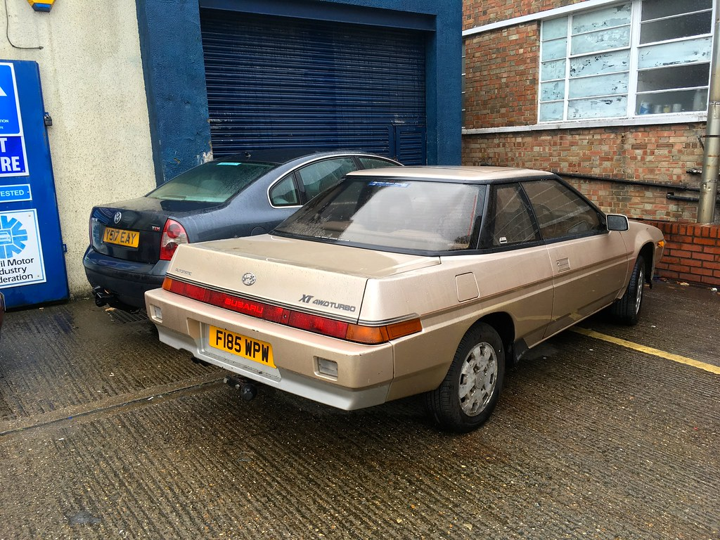 1988 Subaru XT 4wd Turbo Boxer 1.8Litre Automatic   Spotted \u2026   Flickr
