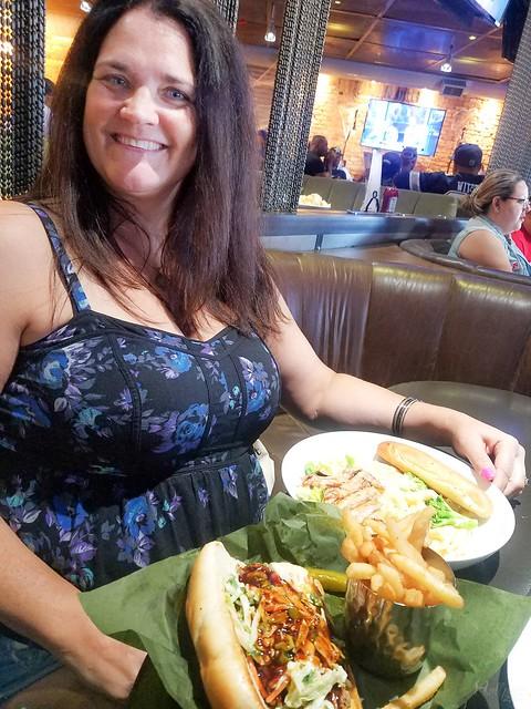 Lunch in Dallas with SecretPlayWife
