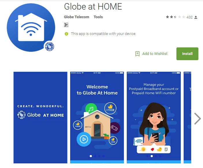 Globe At Home Prepaid Home Wifi - Mommy Peach