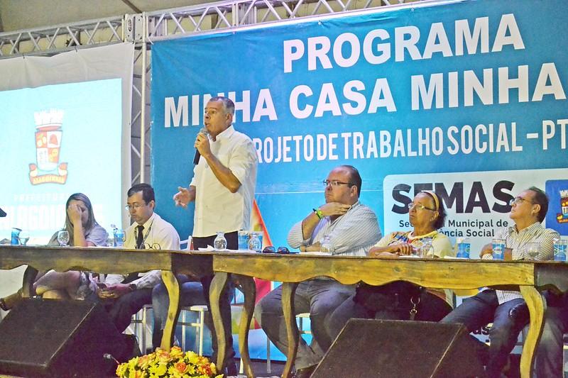 Reunião sobre o PTS do Conjunto Linha Verde/Calú