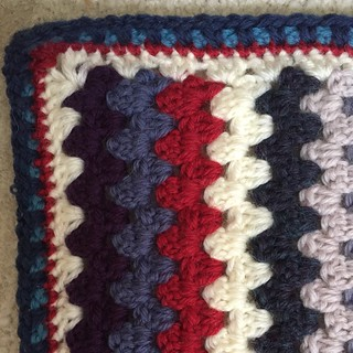 Finished. A blanket for Arlo.
